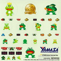 THE YAMASA ULTIMATE HIT's&ARRANGE -KAERU 10th ANNIVERSARY-:特製「カエル」ステッカー